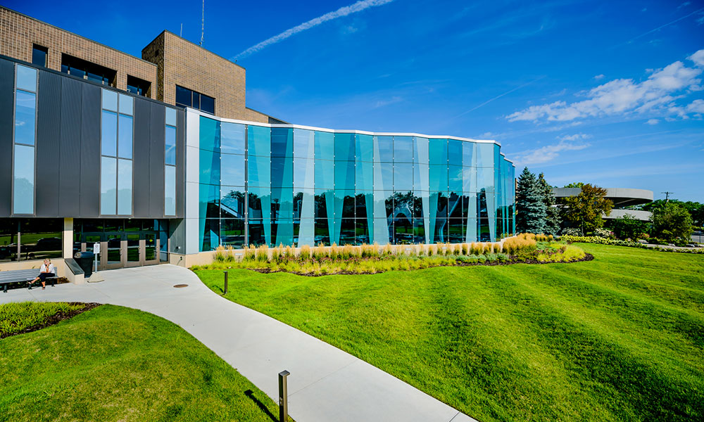 Gannon Building Glass Exterior