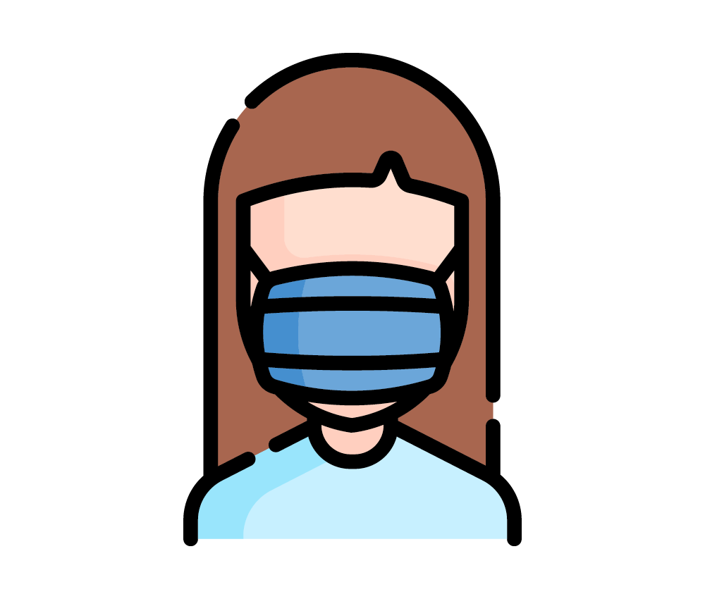 Face coverings and masks graphic