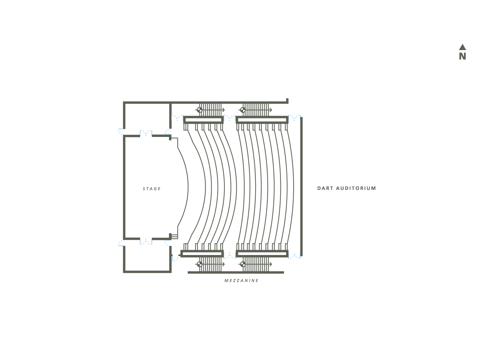 Dart Auditorium Floor Plan
