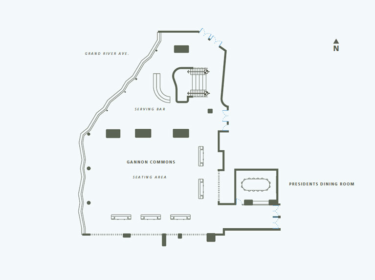 Gannon Commons Floor Plan