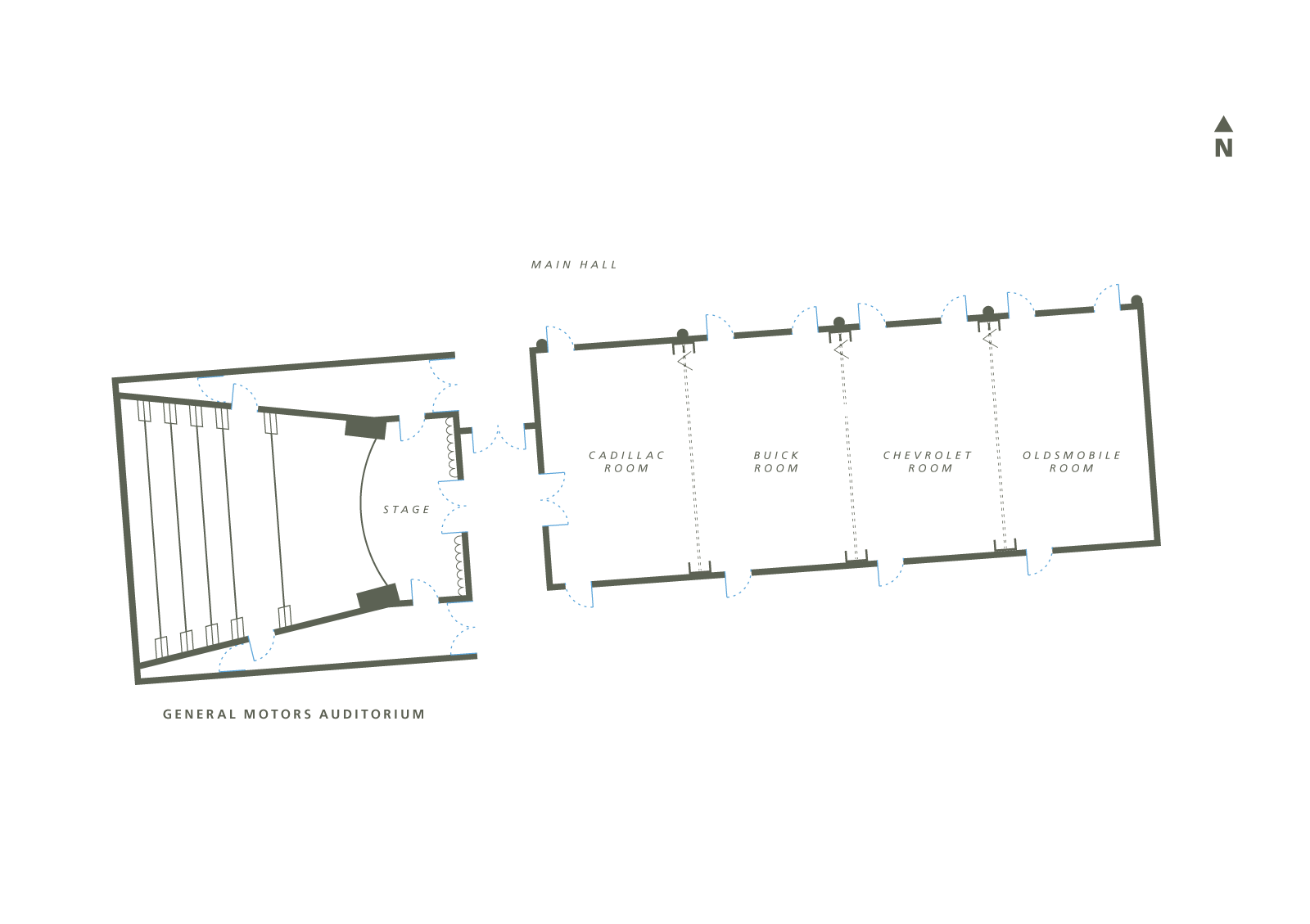 West Campus Showroom Floor Plan