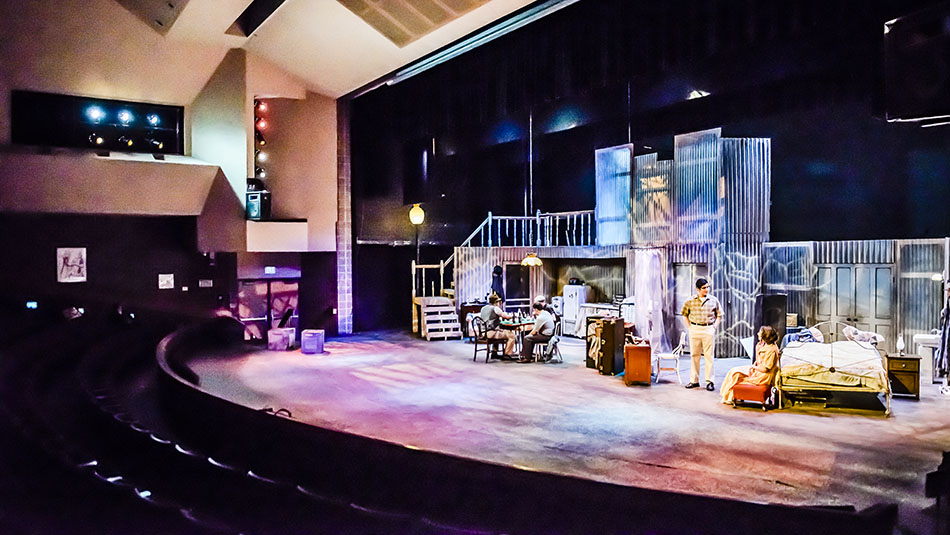 Student play in the Dart Auditorium