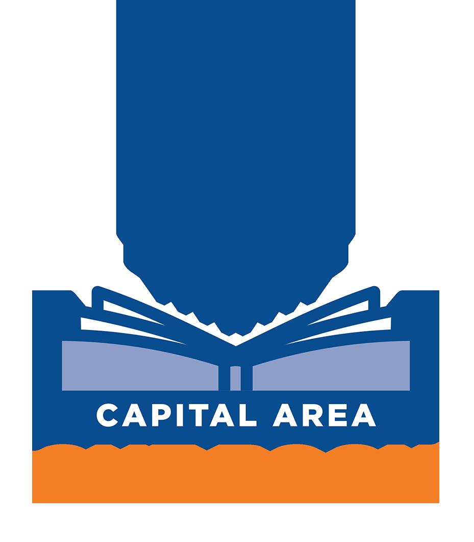 Capital Area One Book logo