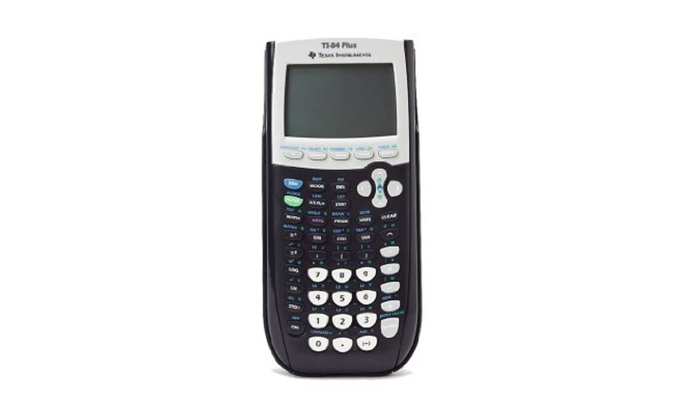 generic picture of a ti-84 graphing calculator