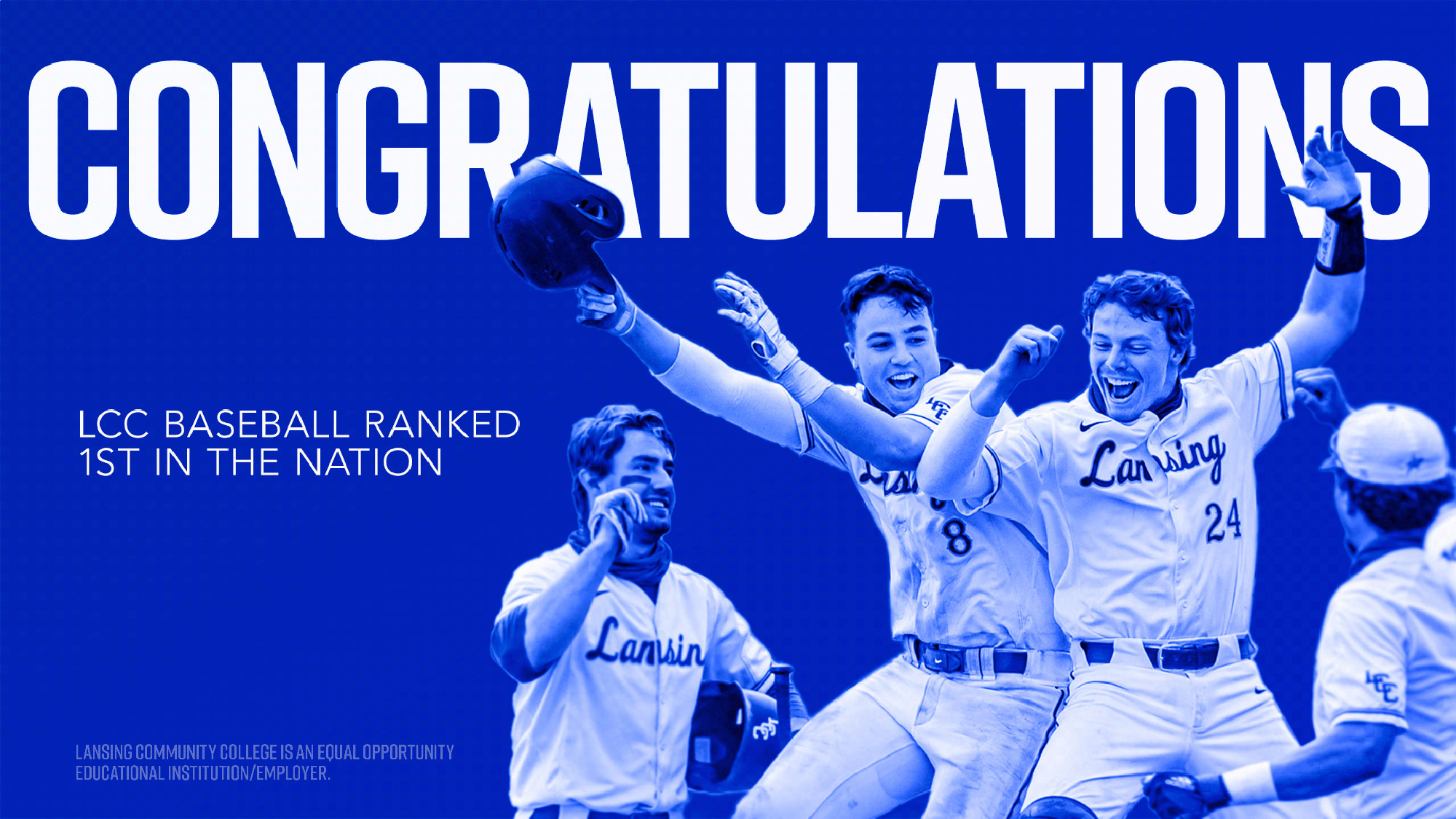 Congratulations - lcc baseball ranked 1st in the nation