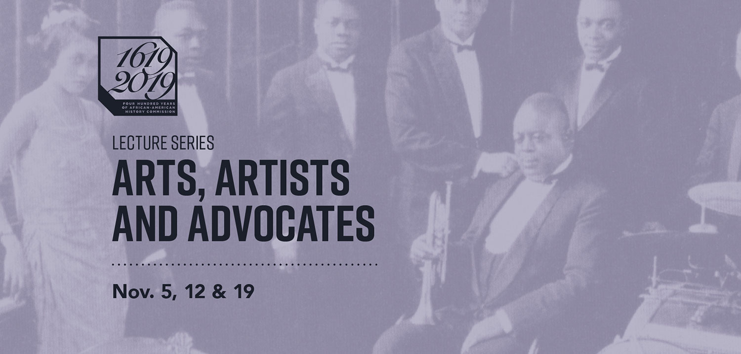 Lecture Series - Arts, Artists and Advocates - Nov. 5, 12 & 19