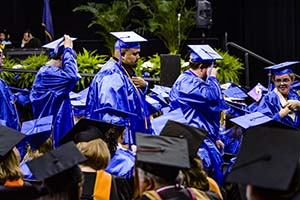 Spring Graduation Thursday May 10, 2018. KEVIN W. FOWLER PHOTO