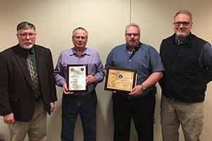 LCC instructor receives prestigious aviation award