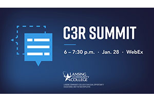 The Coalition for College and Career Readiness (C3R) Summit will be held virtually at 6 p.m. Thursday, Jan. 28.