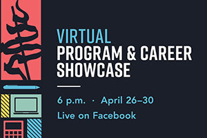LCC is holding a virtual Program and Career Showcase at 6 p.m. April 27-30. The event is free and open to the public and will take place on LCC's Facebook page.