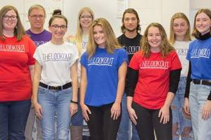 The Lookout Student Newspaper staff