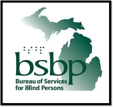 Bureau of Services for Blind Persons logo