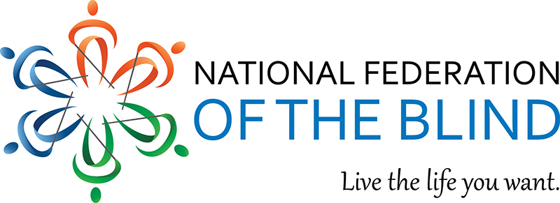 National Federation for the Blind logo