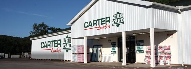 carter lumber building exterior