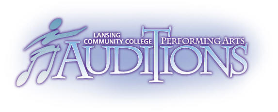 LCC Performing Arts Auditions Graphic